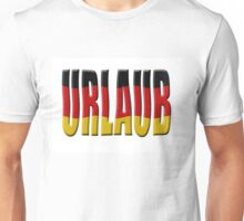 Urlaub - German flag Unisex T-Shirt