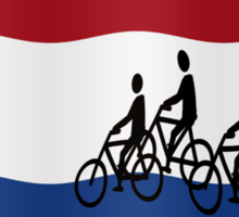 Cycling in The Netherlands Sticker