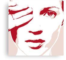 """Pink"" Kate Moss Canvas Print"