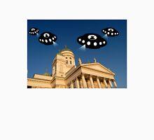 Aliens invade Helsinki Unisex T-Shirt
