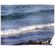 Lake Michigan Waves Poster