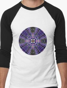 Purple Dreams T-shirt Men's Baseball ¾ T-Shirt