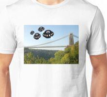 Aliens attack Bristol Unisex T-Shirt
