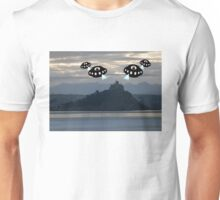 Aliens invade Cornwall Unisex T-Shirt