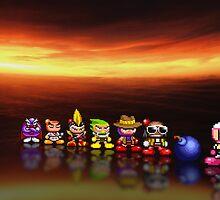 Bomberman - Panic Bomber pixel art by smurfted