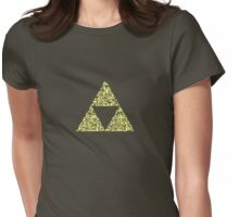 QR Triforce Womens Fitted T-Shirt