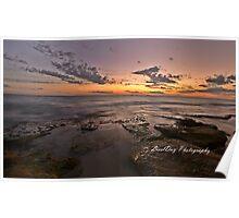 Burns Beach Sunset Poster
