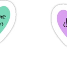 sassy hearts – 6 pack Sticker