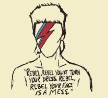 Ziggy Stardust - Rebel Rebel T-Shirt