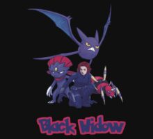 Black Widow - Pokemon by CheriCheriLady