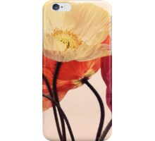 Posing Poppies iPhone Case/Skin