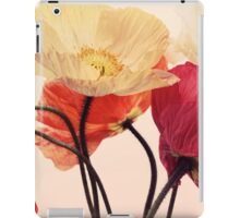 Posing Poppies iPad Case/Skin