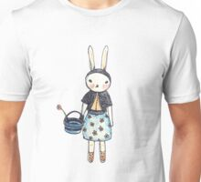 Snootbunny Pale - Blank Background Unisex T-Shirt