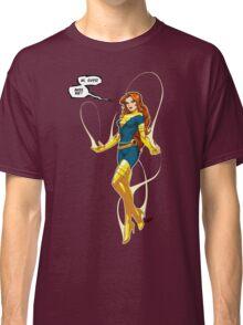 Phoenix (Jean Grey) blue/yellow Classic T-Shirt