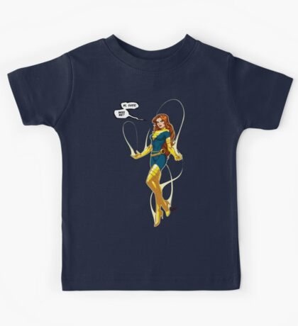 Phoenix (Jean Grey) blue/yellow Kids Tee