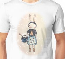 Snootbunny Pale - Halo Background Unisex T-Shirt