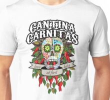 Cantina Carnitas Sugar Skull Unisex T-Shirt