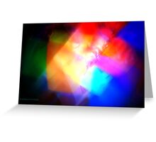 The Light Is The Art 12 (Dark) Greeting Card