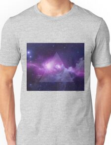 Galaxy Triangle Unisex T-Shirt
