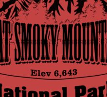 Great Smoky Mountains National Park Sticker