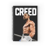 Creed 2015 Adonis Johnson Spiral Notebook