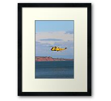 RAF Sea King Helicopter Framed Print