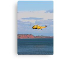 RAF Sea King Helicopter Canvas Print