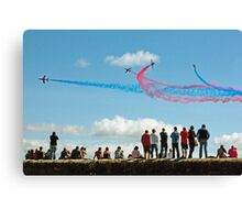 Red Arrows, Dawlish Canvas Print