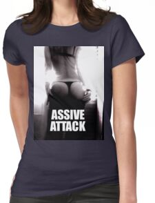 ASSIVE ATTACK Womens Fitted T-Shirt