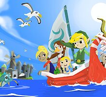 The Wind Waker Tribute by Adam Leonhardt