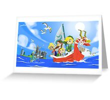 The Wind Waker Tribute Greeting Card