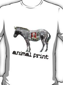 Animal Print (black logo) T-Shirt