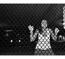 Whitebread Caged . . . Photographic Print