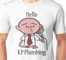 KP Plumbing - Text Unisex T-Shirt