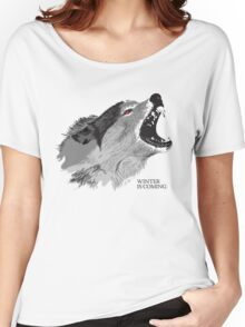Direwolf Winter Is Coming Women's Relaxed Fit T-Shirt
