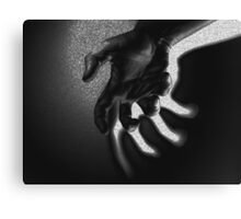 Ghostly Hand Canvas Print