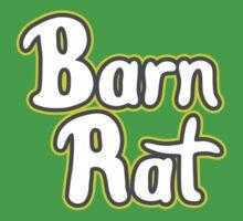Barn Rat - Lime Green Kids Tee