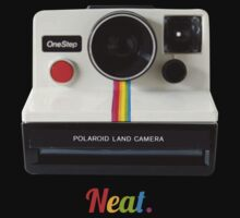 Polaroid Camera Shirt by George Williams