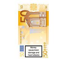 Money caution Photographic Print