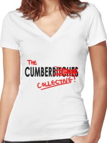 The Cumberbi-COLLECTIVE Women's Fitted V-Neck T-Shirt