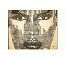 "Grace Jones ""Glow"" Art Print"