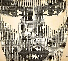 "Grace Jones ""Glow"" by andrewoolery"