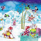 hockey by SVETLANA ZOLOTAREVA