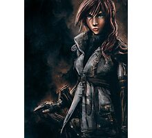 Lightning from Final Fantasy 13 Painting Photographic Print