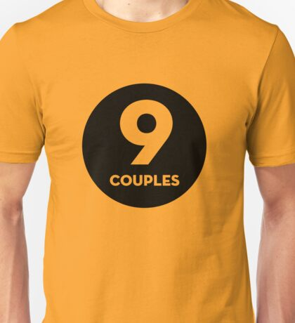 9 Couples - Black T-Shirt