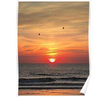 Sunset. Poster