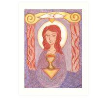 Goddess- Mary Magdalene  Art Print