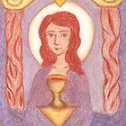 Goddess- Mary Magdalene  by Paola Suarez