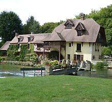 Le Moulin de Fourges by brummieboy