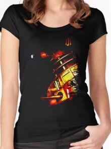Dalek Beta – Bronze Women's Fitted Scoop T-Shirt